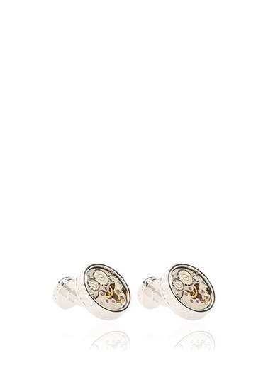 Tateossian Kol Düğmesi Gümüş